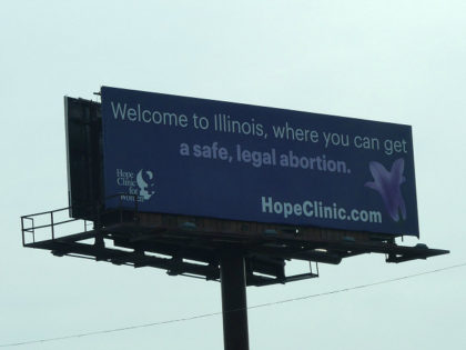 Billboard Touting Abortion Welcomes Visitors to Illinois