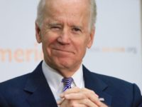 Joe Biden during his tenure as Vice President announced on Thursday that he is joining the race for president in 2020. (Penny Starr/Breitbart News)