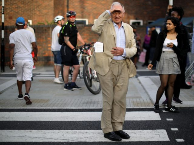 LONDON, ENGLAND - JUNE 15: Ken Livingstone walks near the scene of the Grenfell Tower fire on June 15, 2017 in London, England. At least 17 people have been confirmed dead and dozens missing after the 24 storey residential Grenfell Tower block in Latimer Road was engulfed in flames in …