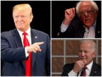 Donald Trump Predicts 2020 Showdown with 'Crazy' Bernie Sanders and 'Sleepy' Joe Biden