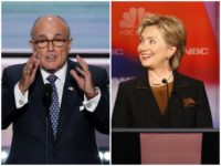 Rudy Giuliani: The Clintons Are 'America's Number One Crime Family'
