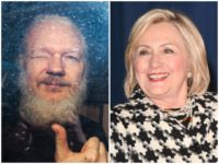 hillary clinton julian assange