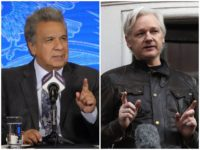 "Ecuador president Lenin Moreno on Tuesday charged that WikiLeaks founder Julian Assange has ""repeatedly violated"" the terms of his asylum in the South American country's London embassy."