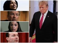Harsh critics of President Donald Trump like Reps. Alexandria Ocasio-Cortez (D-NY) and Ilhan Omar (D-MN) have put aside their differences with the president to join a bipartisan letter backing Trump's announced plans to withdraw troops from Syria now that Islamic State has been defeated.