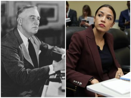 Rep. Alexandria Ocasio-Cortez (D-NY) is spreading the conspiracy theory that Republicans amended the Constitution to stop President Franklin Delano Roosevelt from being re-elected.