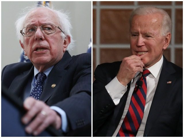 Former Vice President Joe Biden and Sen. Bernie Sanders hold a substantial lead over their Democrat competitors for the 2020 presidential nomination according to a poll released Monday