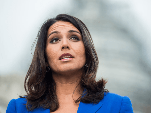 "On September 13, Hawaii Congresswoman Tulsi Gabbard took to the floor of the House to rebuke the administration, accusing President Trump and Vice President Mike Pence of protecting ""al-Qaeda and other jihadist forces in Syria,"" all the while ""threatening Russia, Syria, and Iran, with military force if they dare attack …"