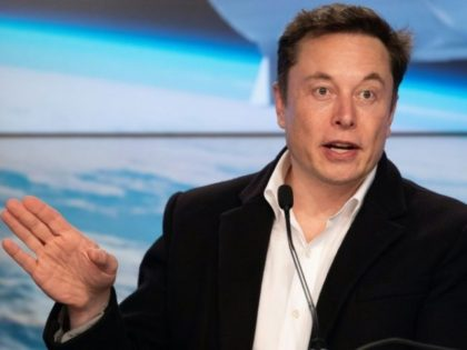 Tesla chief Elon Musk, pictured in March 2019, will take part in presentations of the new technology at the company's Silicon Valley headquarters