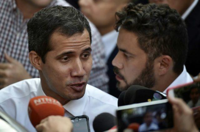 EU condemns stripping of immunity from Venezuela's Guaido