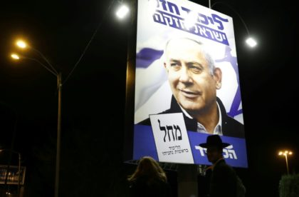 Israel votes with Netanyahu's future at stake