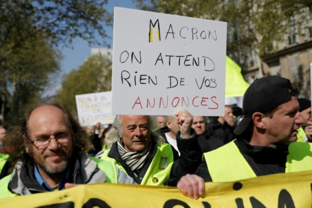 Macron to unveil new measures on Monday to allay 'yellow vest' anger