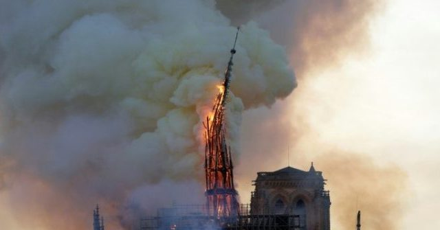 photo image Google: AI Made 'Wrong Call,' Flagged Video of Notre-Dame Fire as 9/11 Conspiracy