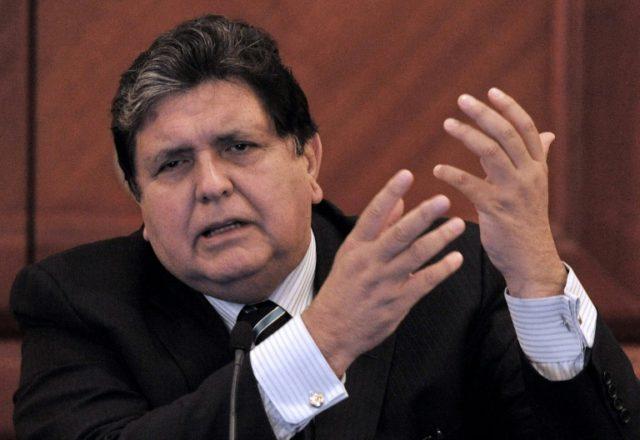 Facing arrest, former Peru president Garcia kills himself