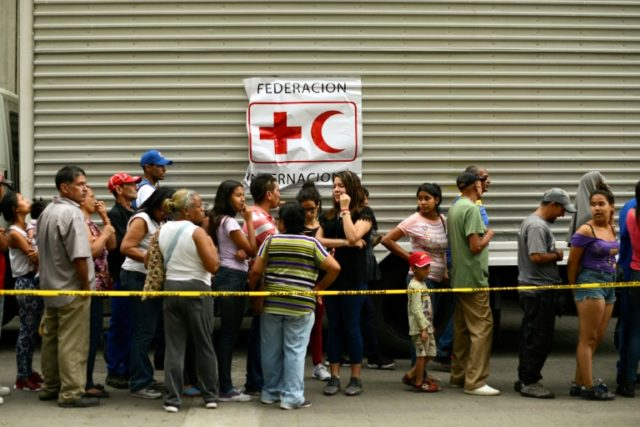 Red Cross announces May aid shipment to Venezuela