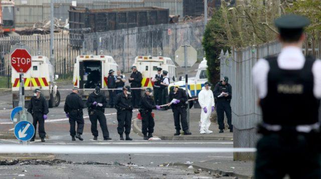 Two young men held over killing of N. Irish journalist