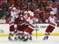 Capitals punished as Hurricanes advance in Stanley Cup