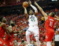 Harden leads Rockets past Jazz to book NBA semi-final berth