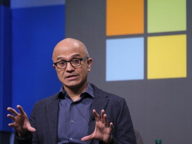 Microsoft tops trillion-dollar mark for first time