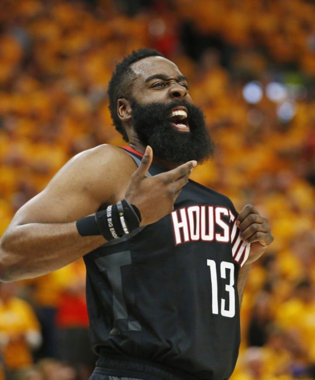 James Harden Total Points: Rockets Beat Jazz 104-101 For 3-0 Series Lead