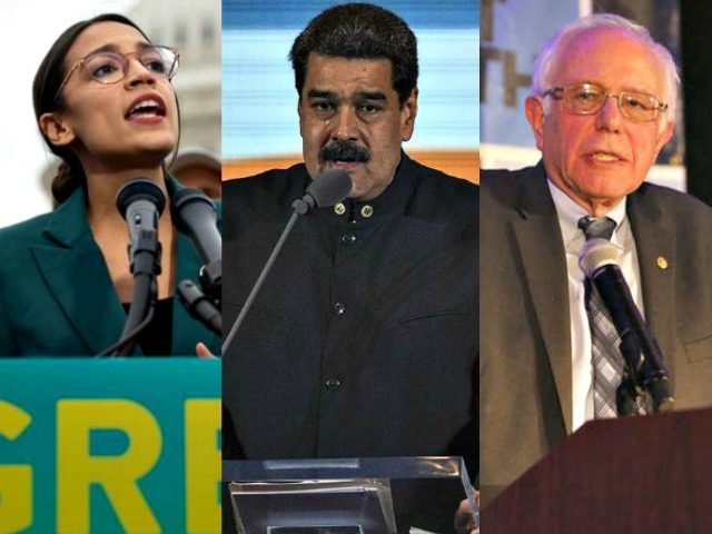 AOC, NIcholas Maduro, Bernie Sanders