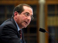 In this March 13, 2019, file phtooHealth and Human Services Secretary Alex Azar testifies before a House Appropriations subcommittee on Capitol Hill in Washington. Azar says drugmakers will soon have to reveal prices of their prescription medicines in those ever-present TV ads. The Trump administration will issue final regulations on …