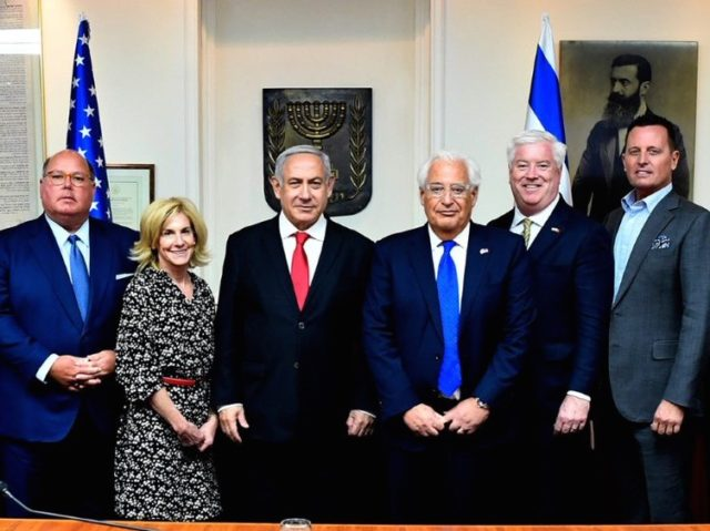 Ambassadors visit Israel (U.S. Ambassador David Friedman / Twiter)