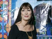 "Actress Anjelica Huston arrives to the premiere of ""The Darjeeling Limited"" in Beverly Hills, Calif., Thursday, Oct. 4, 2007. (AP Photo/Mark J. Terrill)"