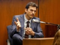 Ashton Kutcher testifies in the murder trial of Michael Gargiulo in Los Angeles Superior Court, Wednesday, May 29, 2019. Gargiulo, 43, has pleaded not guilty to two counts of murder and an attempted-murder charge stemming from attacks in the Los Angeles area between 2001 and 2008, including the death of …