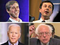 Beto, Buttigieg, Bernie, Biden