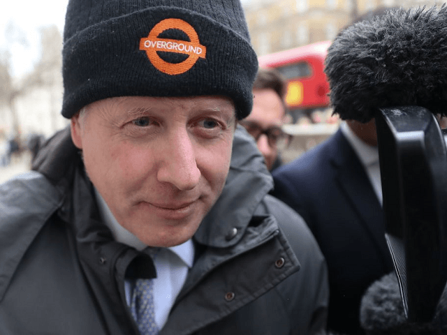 Boris Johnson Faces Camera