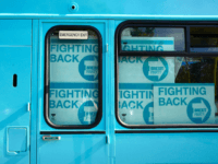 Brexit Party Bus