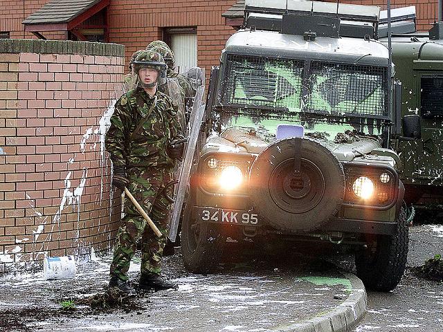 British Soldier Ulster