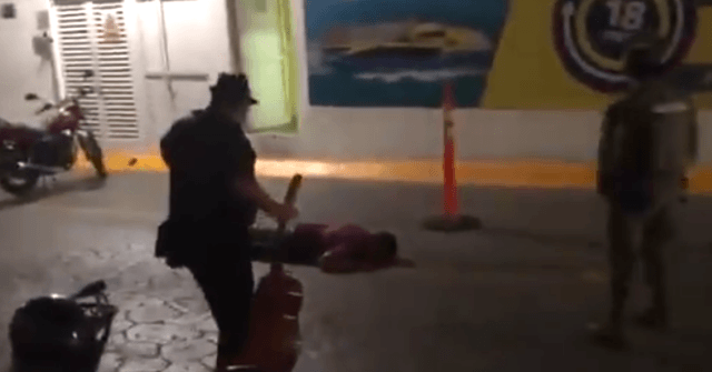 VIDEO: Man Gunned Down near Cancun Tourist Ferry Dock