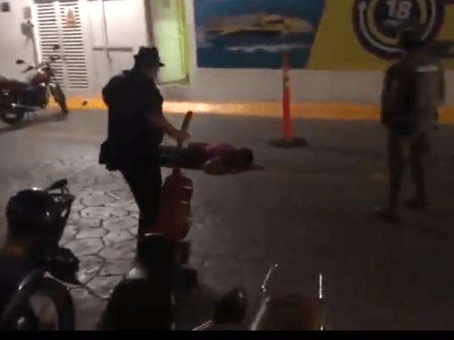VIDEO: Man Gunned Down Near Cancun Tourist Ferry Dock