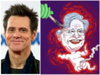 Jim Carrey Artwork Depicts Aborting Alabama Gov. Kay Ivey