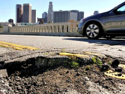 Crumbling Road