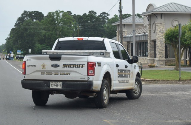 "The motto,""In God We Trust"" is displayed on all San Jacinto County, Texas, Sherff's Office patrol vehicles. (Photo: Lana Shadwick/Breitbart News)"