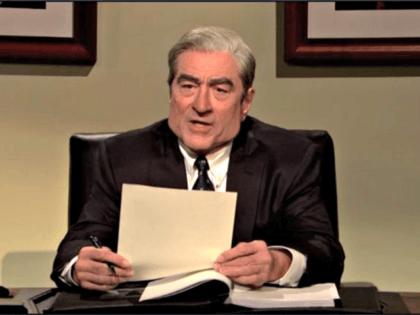 De Niro as Robert Mueller, SNL