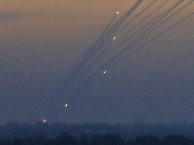 Gaza rockets (Jack Guez / AFP / Getty)