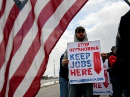 LORDSTOWN, OH - MARCH 06: GM Lordstown workers hold a rally outside the GM Lordstown plant on March 6, 2019 in Lordstown, Ohio. The sprawling facility was idled today after more than 50 years producing cars and other vehicles, falling victim to changing U.S. auto preferences, according to the company. …