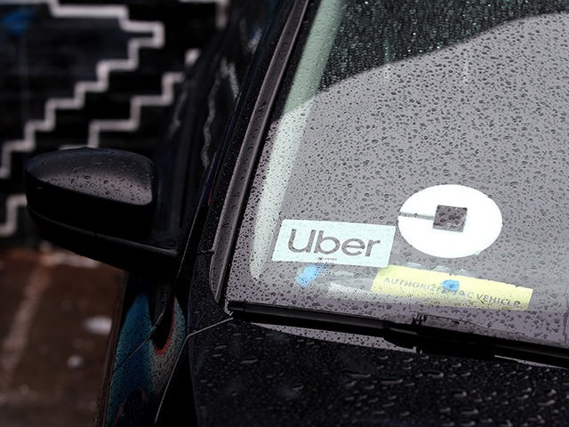 SAN FRANCISCO, CALIFORNIA - MARCH 22: The Uber logo is displayed on a car on March 22, 2019 in San Francisco, California. Uber Technologies Inc. announced that it has selected the New York Stock Exchange for its much anticipated initial public offering that could be one of the top five …