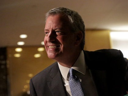 De Blasio: Yes, Democrats Are For 70 % Tax Rates, Free College, Money Is in the 'Wrong Hands'
