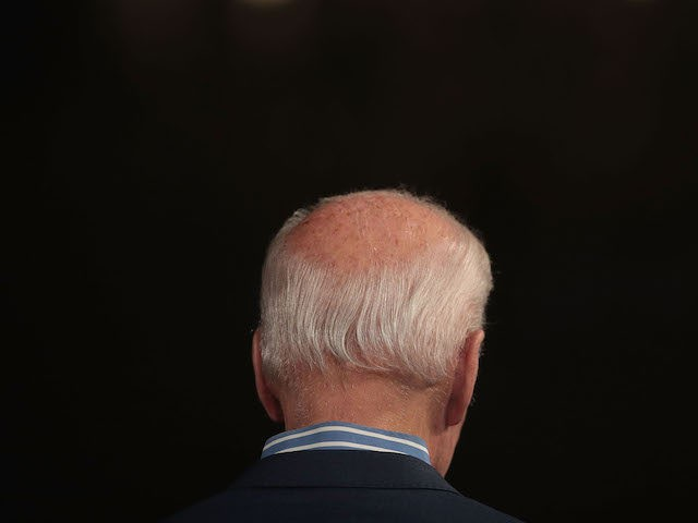 DES MOINES, IOWA 'Äì MAY 1: Democratic presidential candidate and former vice president Joe Biden speaks to guests during a campaign event at The River Center on May 1, 2019 in Des Moines, Iowa. The event was Biden'Äôs final rally in the state, wrapping up his first visit since announcing …