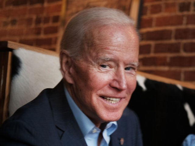 CONCORD, NEW HAMPSHIRE - MAY 14: Former Vice President and Democratic Presidential candidate Joe Biden visits a New Hampshire coffee shop on May 14, 2019 in Concord, New Hampshire. The Former Vice President made a number of public appearances over two days in New Hampshire, his first visit to the …