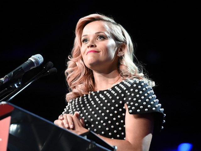 PALM SPRINGS, CA - JANUARY 03: Actress Reese Witherspoon accepts the Chairmans Award onstage during the 26th Annual Palm Springs International Film Festival Awards Gala at Palm Springs Convention Center on January 3, 2015 in Palm Springs, California. (Photo by Jason Merritt/Getty Images for PSIFF)