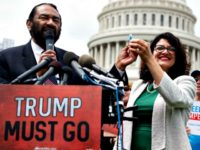 Green, Tlaib Impeach Trump Rally