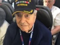 Honor Flight veteran Frank Manchel.