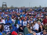 BIRKENAU -- The 31st annual March of the Living concluded Thursday afternoon at the memorial site of the Birkenau death camp with a rousing call to fight antisemitism around the world.