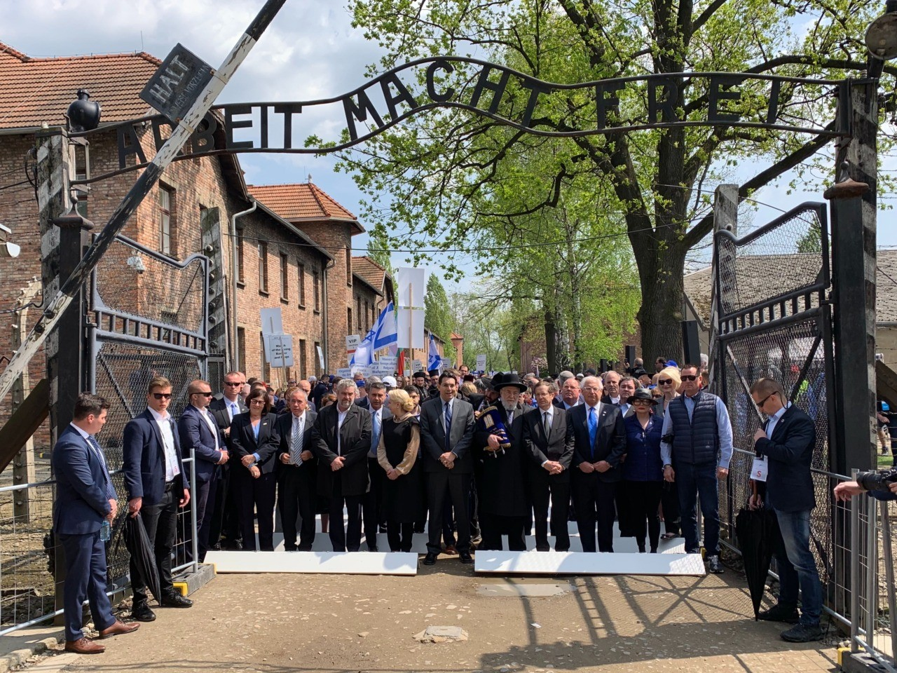 On the March to Birkenau