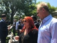 Country star Wynonna Judd attended the White House National Day of Prayer service Thursday where President Donald Trump gave remarks (Credit: Michelle Moons/Breitbart News)